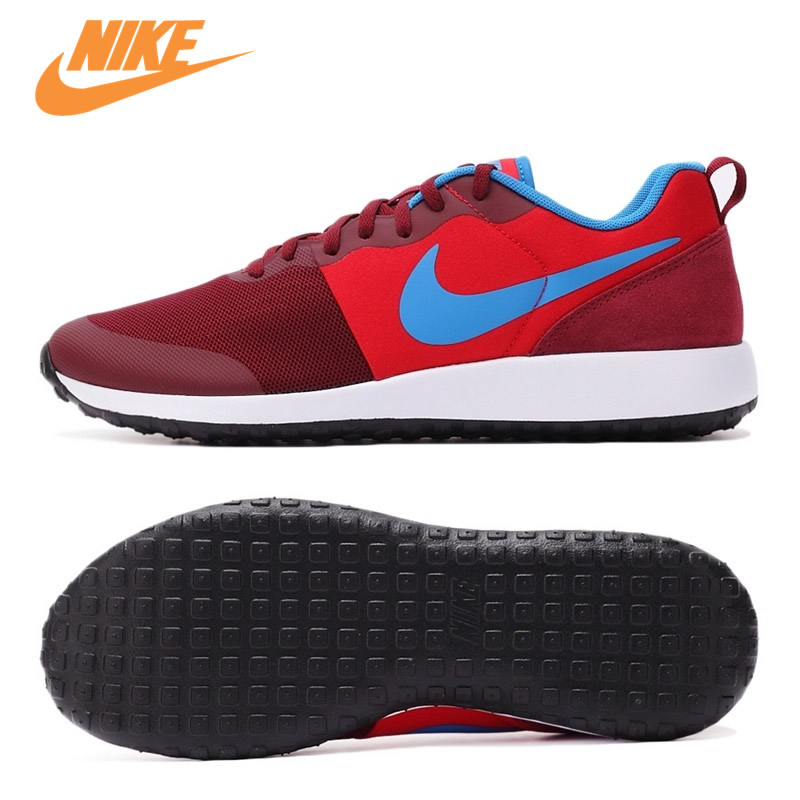 Original New Arrival Official NIKE Men's Light Low Top Breathable Running Shoes Sport Sneakers Trainers kelme 2016 new children sport running shoes football boots synthetic leather broken nail kids skid wearable shoes breathable 49