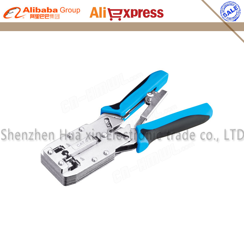 New High quality RJ45 TL-2810R Network RJ11 Cable Ethernet Cat 6 Terminals Crimping Tool Plier Crimper dwz new 6 50mm lx 50b wire terminal crimper tool cable lug crimping plier connector