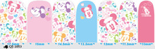 14 NAIL Art Full Cover Self Adhesive Stickers