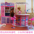 Mini Furniture Happy Hour Relax Time Fashion Bar suit for barbie kurhn Doll House Pretend Play Toys 1/6