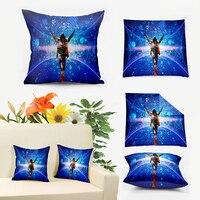 Blue Forever Light Michael Jackson 3D Housse De Coussin Couch Cushion Cover Sofa Pillow Case Throw