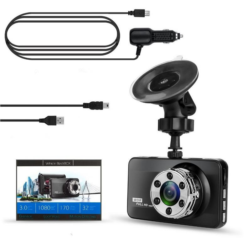 T638 visión HD noche registrador de conducción 24 horas monitoreo aparcamiento vehículo integrado máquina grabadora oculta inteligente 6248 Plan