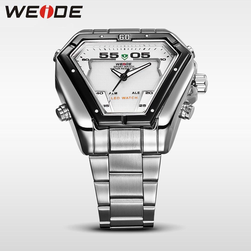 WEIDE Fashion Casual Luxury Klockor Män Luxury Luxury Quartz Watch - Herrklockor - Foto 4