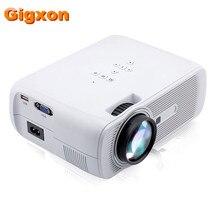Gigxon-G80 1000 Lúmenes Proyector Del Teatro Casero 1080 P HD para Cine Película de Vídeo Juego de la TV Móvil