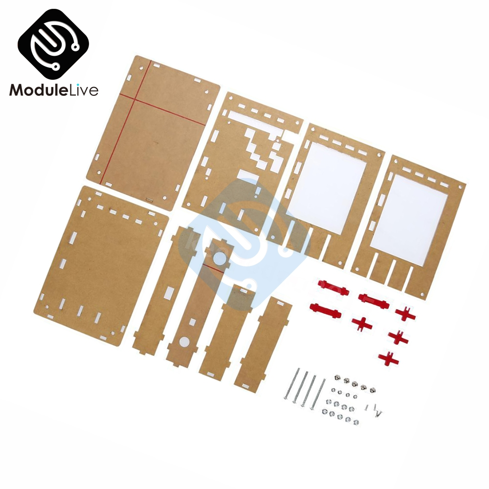 New Clear Acrylic Case Shell Housing For DSO138 2.4