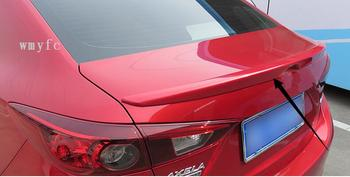 Higher star Stronger ABS material with color paint rear wing Spoiler empennage for Mazda 3 Axela 2014-2017
