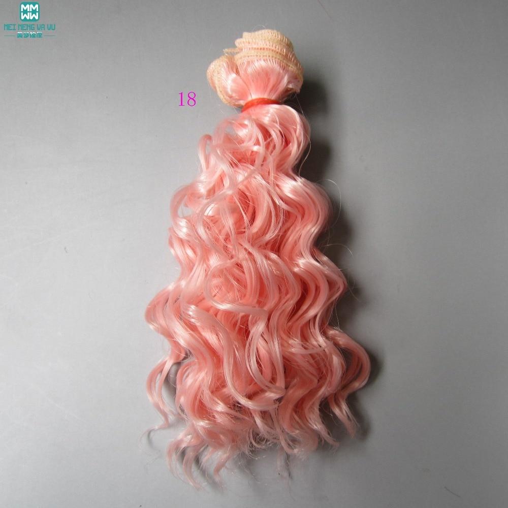 Docktillbehör peruk som ull rullar hår För dockor 1/3 1/4 1/6 BJD - Dockor och tillbehör - Foto 6