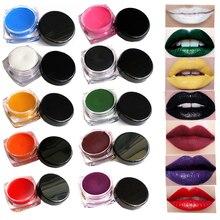 Batom Matte Lipstick 1 PC Brand Makeup 9 Colors Sexy Nude Long-lasting Waterproof Lip Sticks Lipgloss Black Labiales Maquiagem