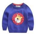 Niño prendas de vestir exteriores 2016 niños del otoño ropa de bebé suéter niño suéter u1742