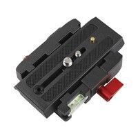 سبائك الألومنيوم الحذاء سريعة لوحة محول مع 1/4 3/8 بوصة برغي ل DSLR كاميرا ترايبود Monopod