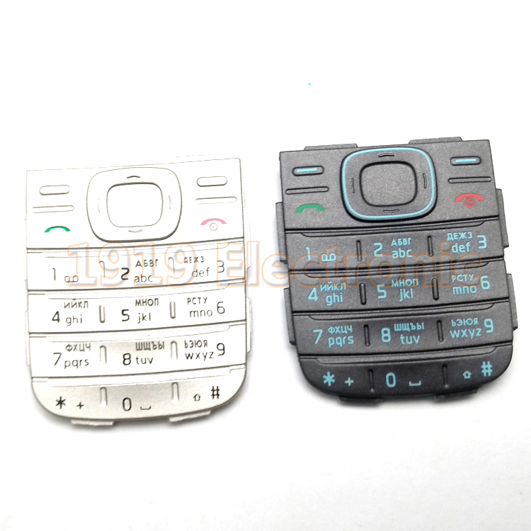 Case Cover Keypad Keyboard-Buttons Hebrew Nokia 1200 1208 New Or Russian English Arabic