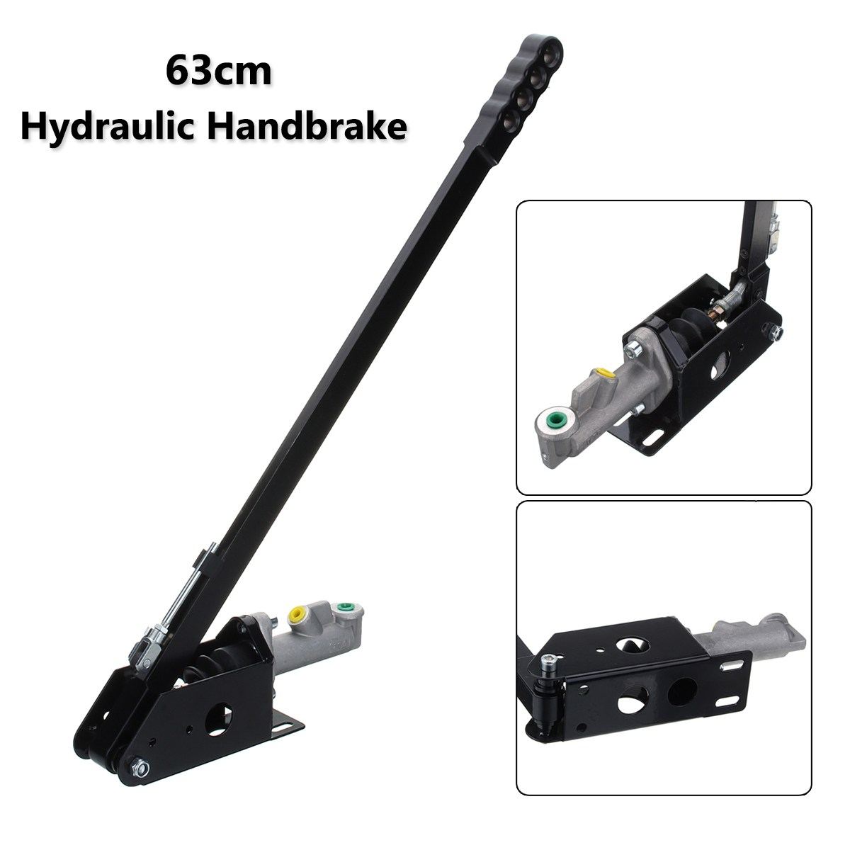 63 centímetros Universal Longo Vertical Hidráulico Handbrake Hidro E-Deriva Corrida de freio Freio de Mão
