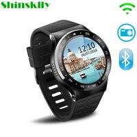 S99A Носимых устройств Смарт часы Android5.1 сердечного ритма трекер смарт часы поддержка г 2 г/3 г gps телефон Smartwatch PK GT08 KW88 kw18