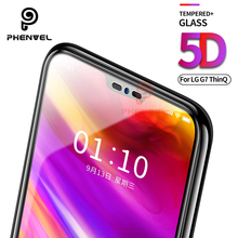 For LG G7 Screen Protector 5D Phenvel 9H Oleophobic Coat tempered Glass Thinq Full Cover Protective film