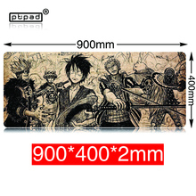pbpad 90*40cm one piece mouse pad gaming large cartoon Anime rubber Keyboard Mat Table For Dota 2 CS Go