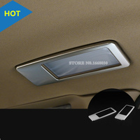 For BMW X1 E84 Inner Roof Rear Reading Light Lamp Cover Trim 2010 2015 2pcs