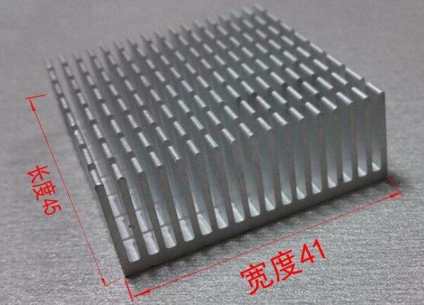 Fast Free Ship Routing PCU Radiator 41*15*45mm Heatsink CPU Radiator Electronic Cooling Block Custom Grooving Heatsink yec ccs pcu