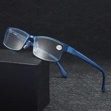 Новое поступление мужские деловые очки для чтения рама из титанового сплава мужские очки для дальнозоркости