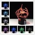 Star Wars Лампы 3D Свет Мастер Йода Джедай Изменение Цвета СВЕТОДИОДНОЕ Освещение Home Decor Lava Настольная Лампа Ночник для Ребенка Лучше подарок