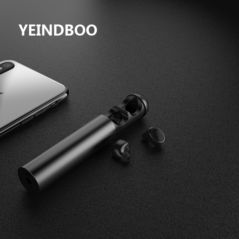YEINDBOO Wireless Earbuds Comes With Rechargeable Wireless Bluetooth Headset Headset Noise Cancellation Wireless Earphones Mini wireless
