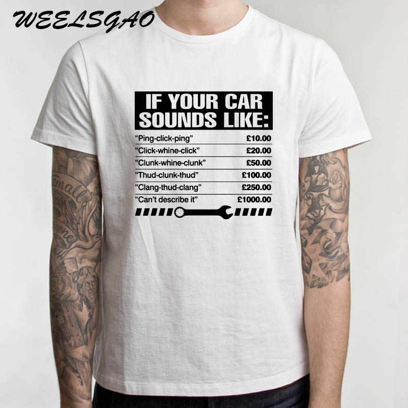 500990c560 ... mechanic t shirt birthday; detail feedback questions about if your car  sounds like mens funny ...
