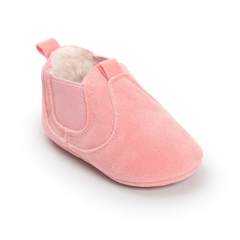 Hot koop! Warm winter babylaarzen romius nubuck Baby schoenen - Baby schoentjes - Foto 4