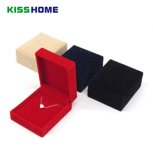 цены 3pc/lot Beige Jewellery Case Earrings Necklace Bracelets Display Box Velvet Gift Boxes Amazing Square Velvet Boxes for Keychains