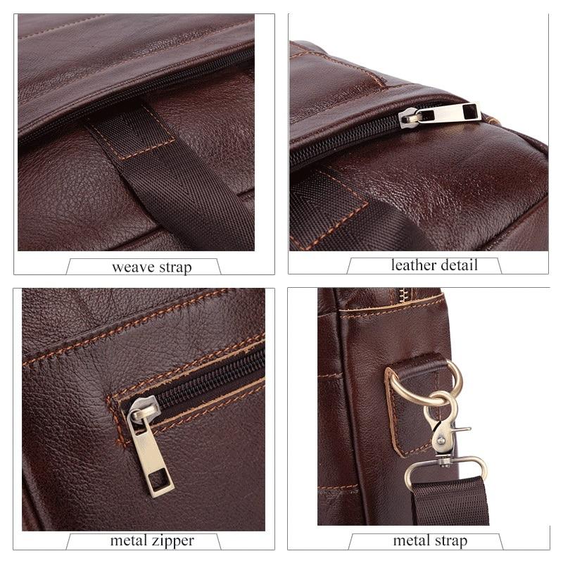 mva maleta de couro para Gender : Male Leather Men Bag