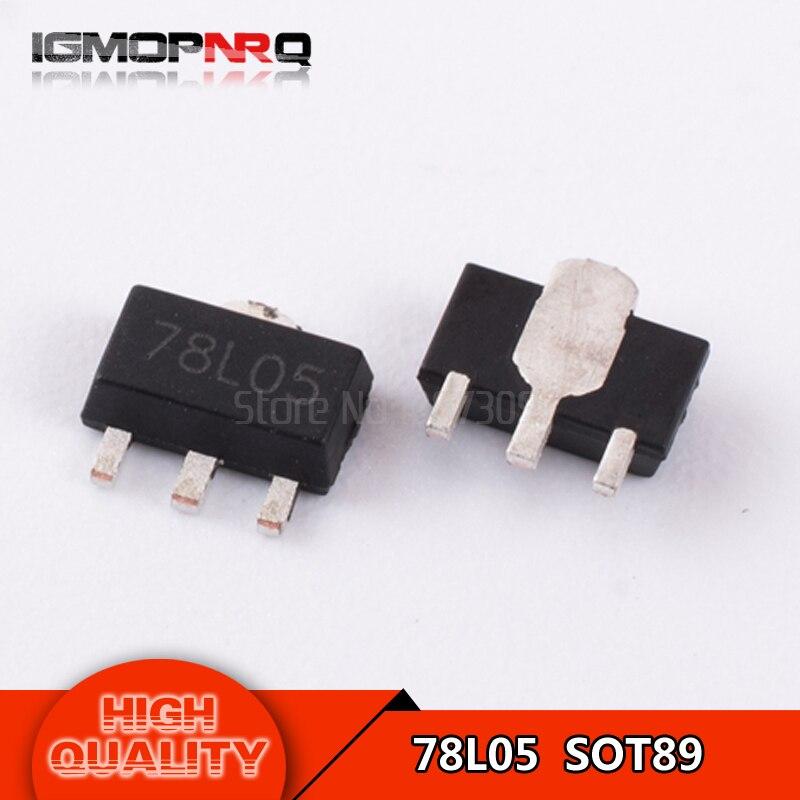 100PCS 78L05 REG LDO 5V 100MA SOT-89 NEW