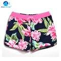 GL Marca Mujeres del Verano Floral Playa Corta Más El Tamaño de natación de Agua de Deporte Mujer de Vacaciones Mar Nado Surf Shorts