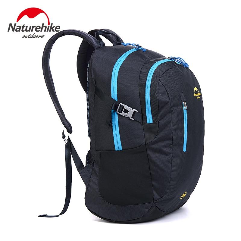 Naturehike New Unisex Travel Backpack Sport Backpack Waterproof Camping Bag NH16B030-D