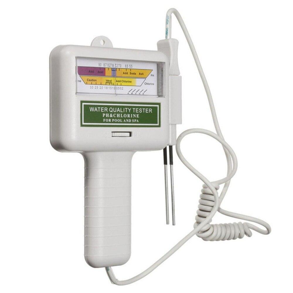 PH Cl2 compteur de niveau de chlore testeur de qualité de l'eau moniteur de Test pour piscine Spa détecteur de qualité de l'eau livraison directe