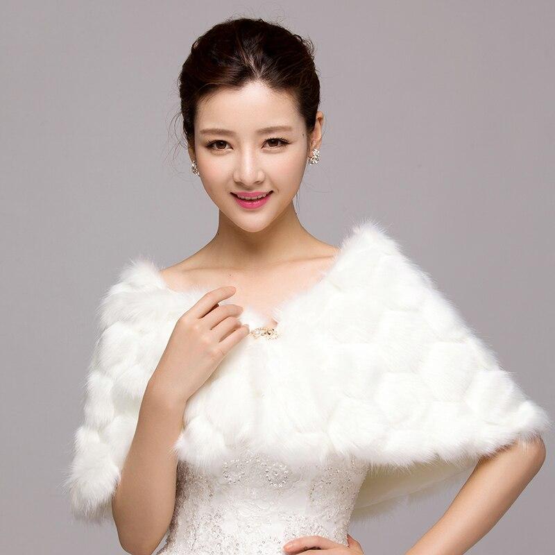luxueux plume de fourrure bolros de mariage de marie veste bolero mariage shrug manteau de marie - Bolero Plume Mariage