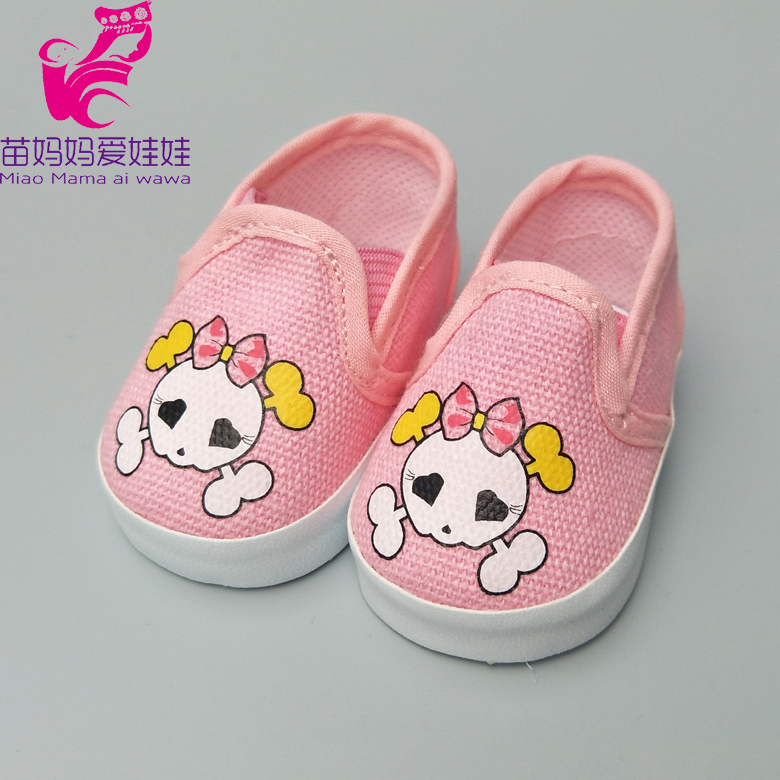 Casual boots shoes for 43CM zapf baby born doll 18 American Girl dolls sport shoes