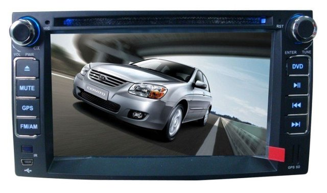 Special car DVD for Kia Cerato with GPS PIP dual zone