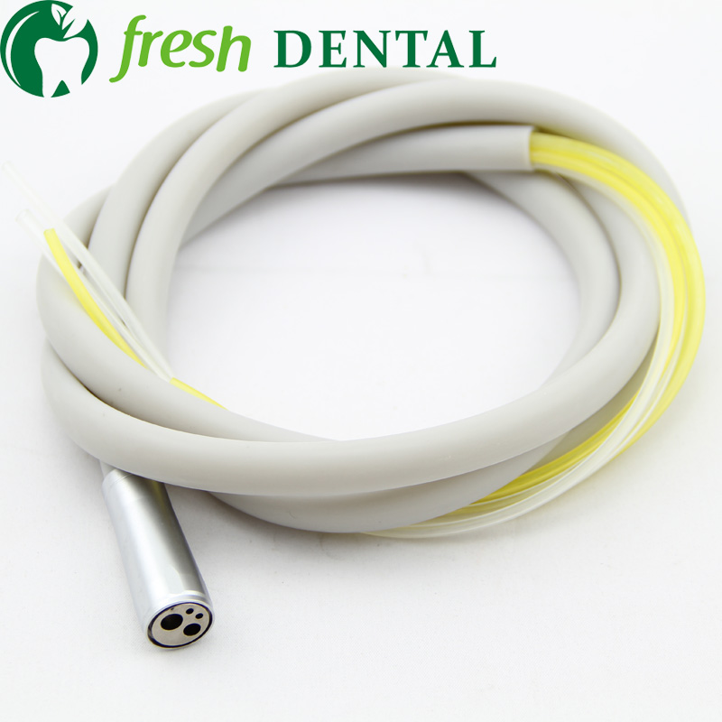 10PCS Dental 4 holes High Speed handpiece Hose 4 Holes Tubing Silicone tube handpiece pipe with
