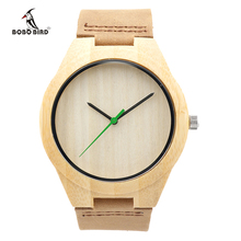 Fashion BOBO BIRD Brand Men Watches Bamboo Wood Wristwatch Luxury Mens Watch Relogio Masculino as Gifts for Friends 2017