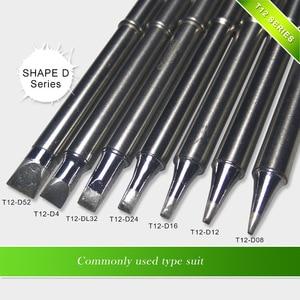 Image 4 - Железная насадка для пайки FX951 STC и STM32 OLED, Серия D, форма, наконечник для паяльника, для D4, 1, 5, 5, 5, 5, D24, D16, 5, 8, T08, T12, STC и STM32