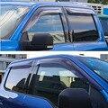 4 шт./компл. окна автомобиля дождь солнцезащитный Козырек защитный чехол укрытия крышка Стайлинг подходит для Ford F150 2015 2016 автомобильные аксе...