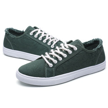 Espadrilles Men 2019 Casual Shoes Lightweight Low-top Mens Breathable Canvas Fashion Sneakers Chaussure Homme