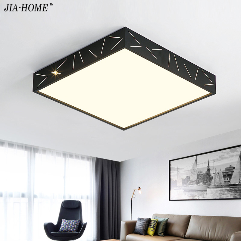 Surface Mounted Bedroom LED Ceiling lights for living room study room square Dimming LED home ceiling lamp support 110V 220V modern led ceiling lights for children acrylic led dimming ceiling lamp 110v 220v round ceiling fixtures lights sourface mounted