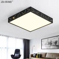 Surface Mounted Bedroom LED Ceiling lights for living room study room square Dimming LED home ceiling lamp support 110V 220V