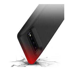 Image 4 - Ударопрочный чехол для зарядного устройства для Samsung Galaxy S10 Plus S10e, запасной блок питания для аккумулятора с USB зарядкой, чехлы для аккумуляторов