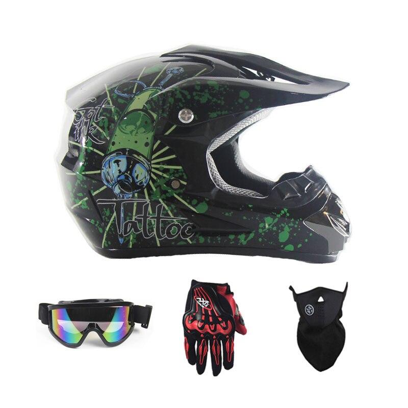Новый Мото крест КАСКО Шлем Capacete бездорожью мотоциклетный шлем Байк Шлем спуске шлем велосипеда DOT утвержден