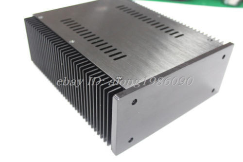 sep_store NEW B2109 Full Aluminum Power amplifier Enclosure PSU chassis black front CASE куплю машину лада 2109 беушную