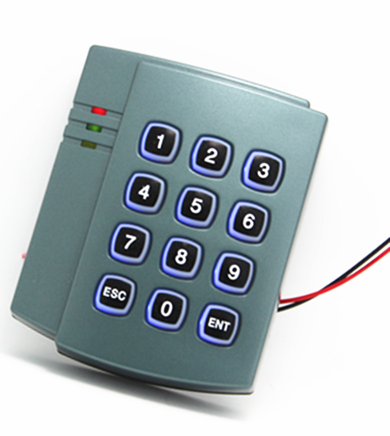125KHz ID Card Password Keypad Home Security Door Access Control System diysecur magnetic lock door lock 125khz rfid password keypad access control system security kit for home office