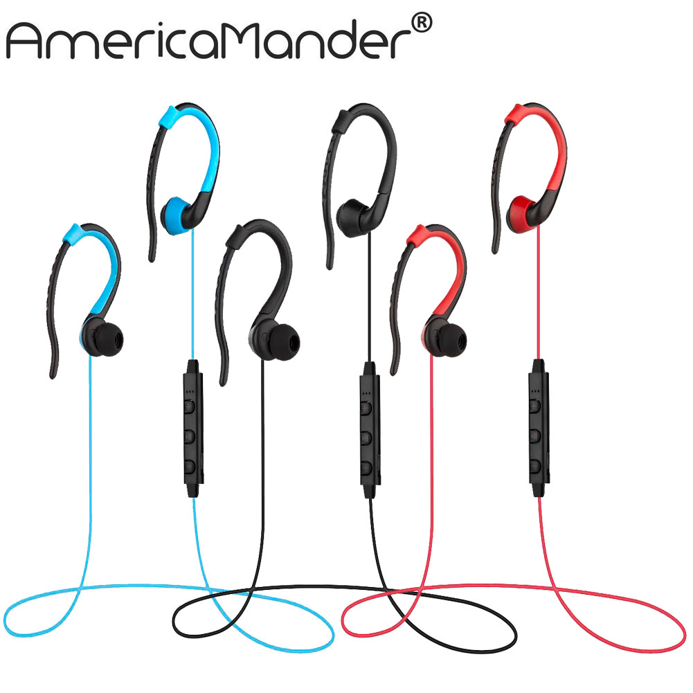 a mander 4 1 wireless headphone bluetooth earphone bluetooth headset microphone sport earphone. Black Bedroom Furniture Sets. Home Design Ideas