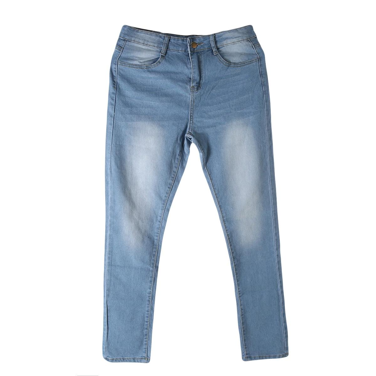 Women Lady Denim Skinny Pants High Waist Stretch Jeans Slim Pencil Jeans Women Casual Jeans 12