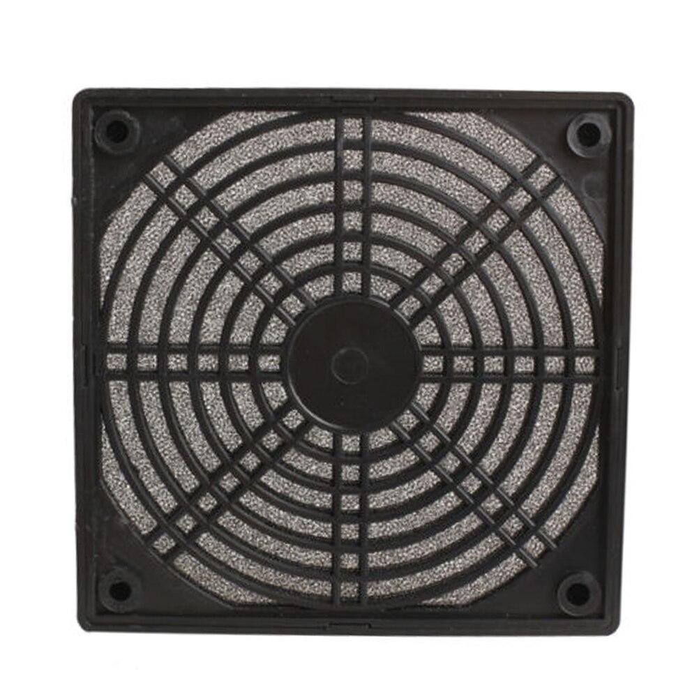 New Computer Case Fan Dust Cover 12cm Three-in Dustproof Sponge Filter Mesh 12 Computer Fan Colander