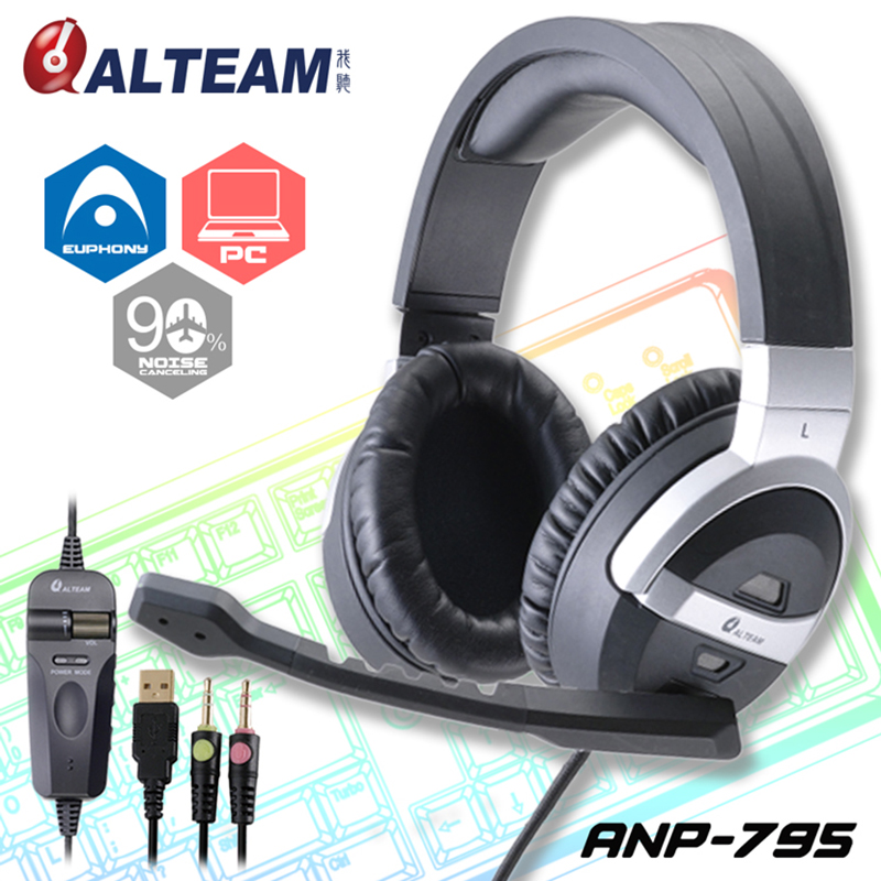 Good Wired 3.5mm Stereo Big Over Ear Noise Cancelling Gamer PC Game Gaming Headsets Headphone with Microphone for Computer rock y10 stereo headphone earphone microphone stereo bass wired headset for music computer game with mic